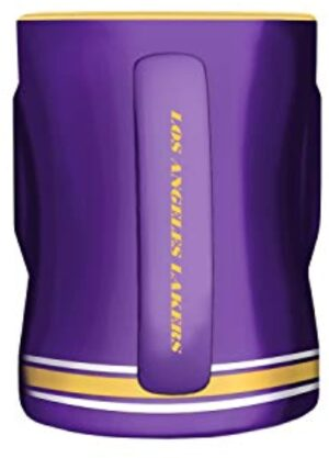 The Sports Vault 14 Oz Sculpted Mug Los Angeles Lakers
