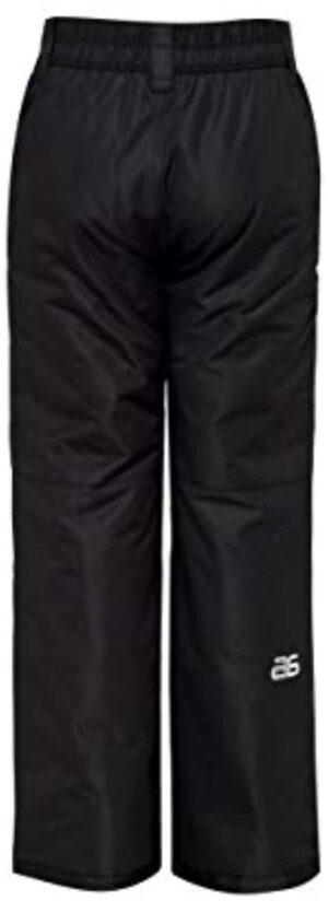 Arctix Youth Snow Pants, Black, Large Regular