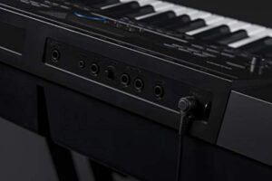 Casio Inc. WK6600 76-Key Workstation Keyboard with Power Supply