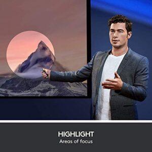 Logitech Spotlight Presentation Remote - Advanced Digital Highlighting with Bluetooth, Universal Compatibility, 30M Range and Quick Charging? Slate