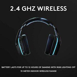 Logitech G935 Wireless DTS:X 7.1 Surround Sound LIGHTSYNC RGB PC Gaming Headset