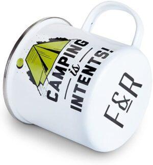 Foster & Rye Camping is Intents Enamel Mug, Multicolor