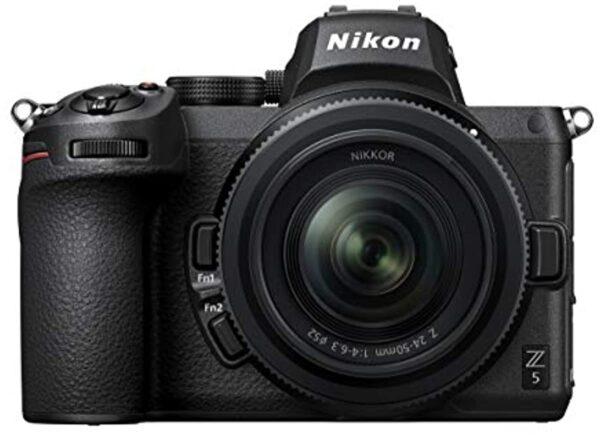 Nikon 34306 Z 5 FX-Series Kit with NIKKOR Z 24-50mm f/4-6.3, black