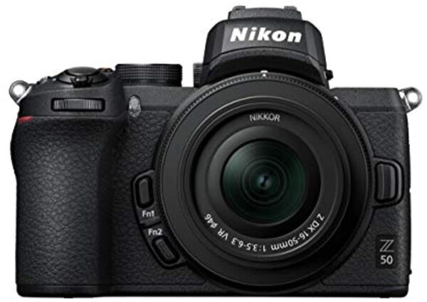 Nikon Z 50 16-50mm VR lens kit Digital Camera with 3.2-Inch TFT LCD, Black