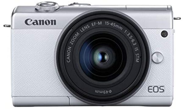Canon EOS M200 EF-M 15-45mm IS STM Kit White (13803318272)