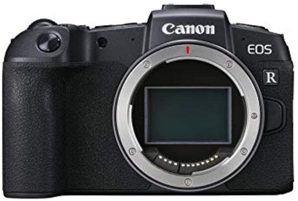 Canon EOS RP Mirrorless Digital Camera (Body Only), Black (13803313222)