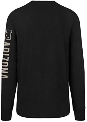 NFL Men's OTS Slub Long Sleeve Team Name Distressed Tee