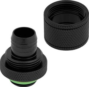 """Corsair Hydro X Series Xf Compression 10/13mm (3/8""""/ 1/2"""") ID/OD Fittings Four Pack"""