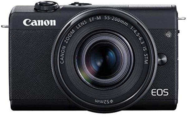 Canon EOS M200 EF-M 15-45mm IS STM Kit Black (13803318265)