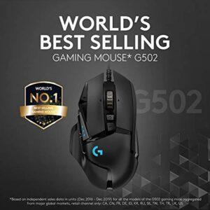 Logitech G502 Hero High Performance Gaming Mouse (910-005469)