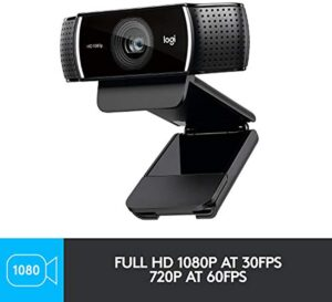 Logitech C922x Pro Stream Webcam 1080P Camera for HD Video Streaming (960-001176)