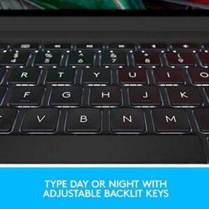 Logitech 920-009682 Slim Folio PRO Backlit Bluetooth Keyboard Case for iPad Pro 11-inch (1st and 2nd gen) - Graphite