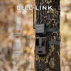 SPYPOINT Cell-Link Universal Cellular Trail Camera Adapter Makes Virtually Any Trail Camera a Cellular Camera Get Your Game Camera Images Sent to Your App by Connecting Through Trail Cam SD Card Slot