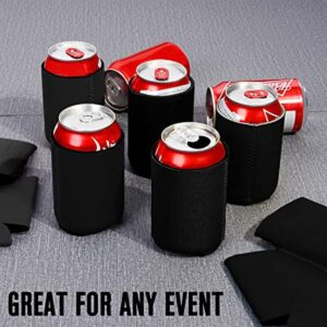 PrettyCare Can Koozies Cooler - Insulated Neoprene Beer Bottles Sleeve Holder Bulk - Coozies Blank for DIY Custom Wedding Favor, Funny Party Gift