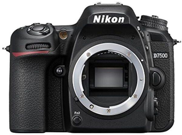 Nikon 33719 Black D7500 DX-Series Digital Body