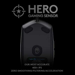Logitech Pro Hero Gaming Mouse (910-005439)