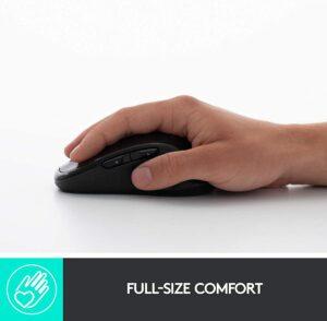 Logitech M510 Wireless Mouse, Black (910-001822)
