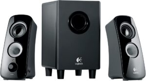 Logitech Z323 2.1 Channel Computer Speaker System (980-000354)