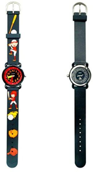 Kids Watch Waterproof for Little Girls Boy 3D Cute Cartoon Silicone Wrist Watches