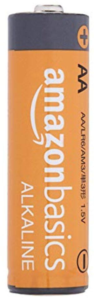AmazonBasics AA 1.5 Volt Performance Alkaline Batteries - Pack of 100