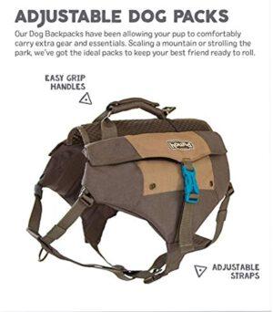 Outward Hound Kyjen 22080 Denver Urban Pack Lightweight Backpack for Dogs, Large/X-Large