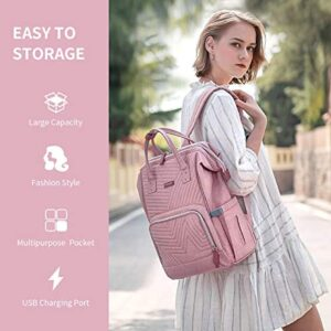 Diaper Bag Backpack SUNVENO Baby Changing Bag Personalized Travel Back Pack