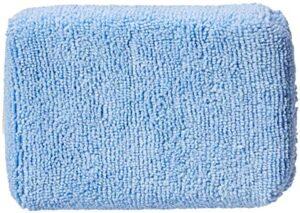 AmazonBasics Microfiber Car Applicator Pads, Blue, 8 Pack