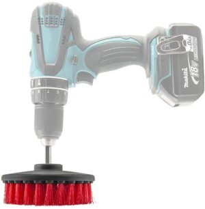 Chemical Guys Carpet Brush W/Drill Attachment - Heavy Duty (RED)
